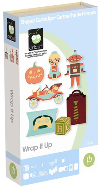 WRAP It UP  !  CRICUT Cartridge  -  Retired and Getting Hard to Find - Great Images for All Occasions