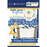 FESTIVAL OF LIGHTS -  HANNUKAH PAPER COLLECTION -12X12 with  EPHEMERA PACK