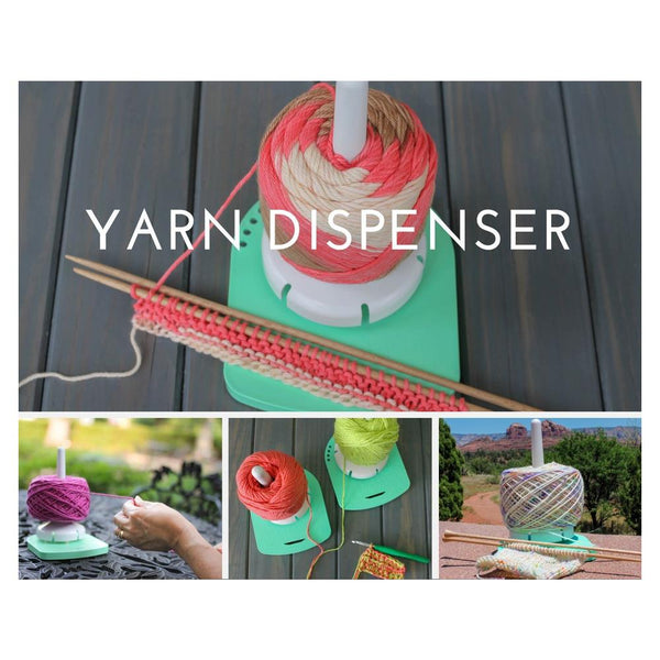 YARN VALET -  YARN DISPENSER (Rotating)   by PRYM ERGONOMICS