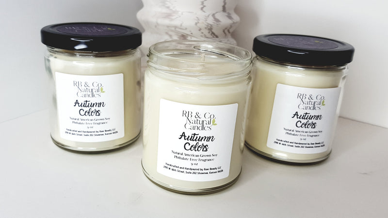 Autumn Colors | Natural Soy Candle | Hand-Poured and Hand-crafted