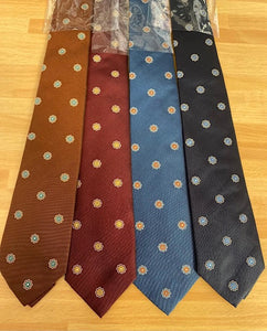 David Ambrico 7-Fold Fall Medallion Ties