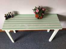 Load image into Gallery viewer, Mint Green Console Table