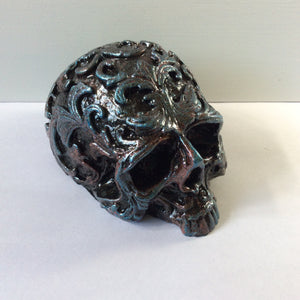 Metallic  Skull - Medium