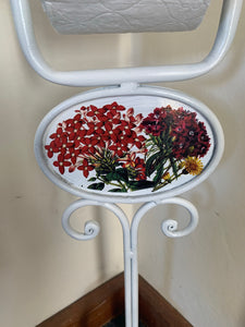 Cast Iron toilet roll holder