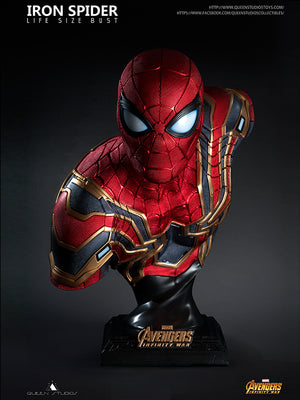 Queen Studios announces Iron Spider Life Size Bust