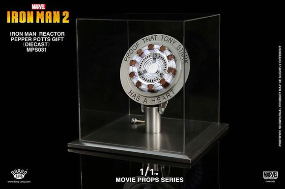 King Arts 1:1 Arc Reactors Movie Replica (Mark 1, 3, 6 & 42)