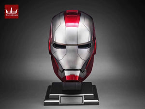 PRE ORDER: AutoKing Mk5 Iron Helmet - Movie Prop Replica