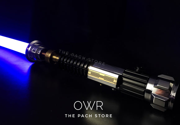 Ultimate Works Obi Wan Kenobi ROTS Lightsaber custom force fx
