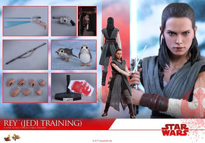 Hot Toys MMS446 - STAR WARS: THE LAST JEDI REY (JEDI TRAINING) 1/6TH SCALE COLLECTIBLE FIGURE (FREE SHIPPING)