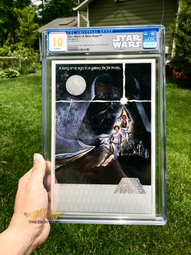 NEW! Star Wars: A New Hope #1 (2018) Premium Silver Foil Graded by CGC Comics Perfect GEM MINT 10 RARE!
