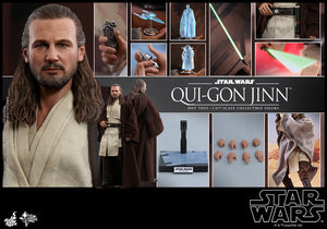 HOT TOYS MMS525 -STAR WARS: EPISODE I - THE PHANTOM MENACE QUI-GON JINN 1/6TH SCALE COLLECTIBLE FIGURE