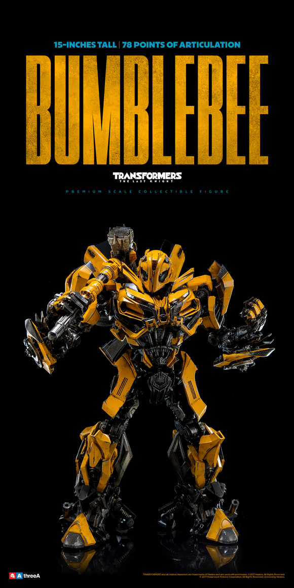 Threezero 3A Transformers The Last Knight Bumblebee