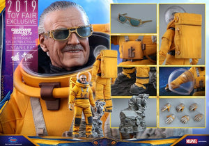 READY STOCK - HOT TOYS MMS545 GUARDIANS OF THE GALAXY VOL. 2 STAN LEE®