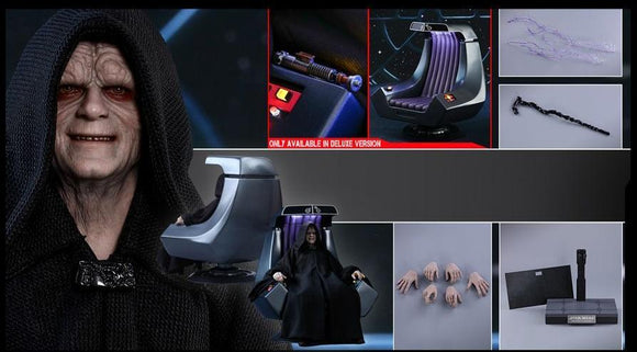 STAR WARS: EPISODE VI RETURN OF THE JEDI EMPEROR PALPATINE (DELUXE VERSION) 1/6TH SCALE COLLECTIBLE FIGURE