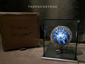 From Pepper - Pepper's Gift Arc Reactor Custom Made - 1/1 Movie Prop Replica