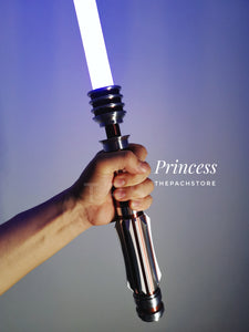 "The Princess Custom Saber RGB - 1"" Duel Worthy, Color Changing, affordable custom Saber"
