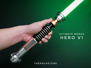 Ultimate Works Luke Hero V1 Customs Saber NEW AUG 2020!