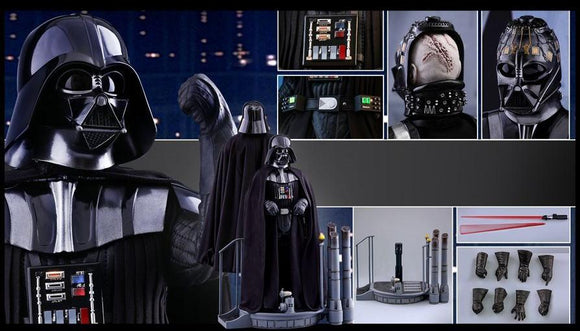 Hottoys 1/6th scale Darth Vader Collectible Figure STAR WARS: EPISODE V THE EMPIRE STRIKES BACK