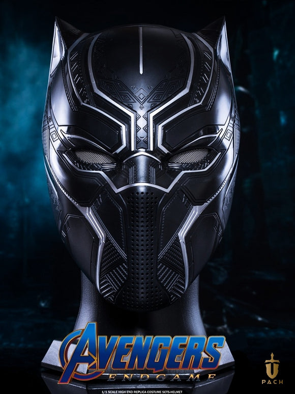 Officially Licensed Black Panther Helmet 1/1 Avengers Movie Prop Replica