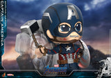 In Stock - Hot Toys CAPTAIN AMERICA (BATTLING) Cosbaby (ENDGAME)