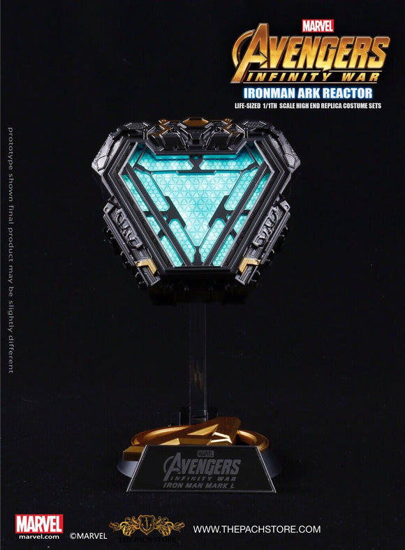 Avengers Infinity War- Iron Man Arc Reactor MARK L 50 - Marvel Licensed 1/1 Movie Prop Replica