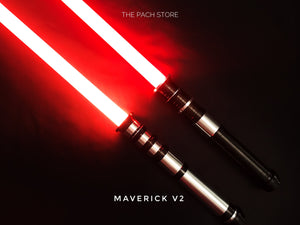"The Maverick v2 - 1"" Duel Worthy Affordable Saber"
