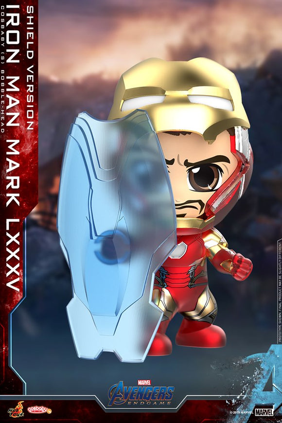 In Stock - Hot Toys Iron Man Mark LXXXV (Shield Version) Cosbaby (ACGHK 2019)