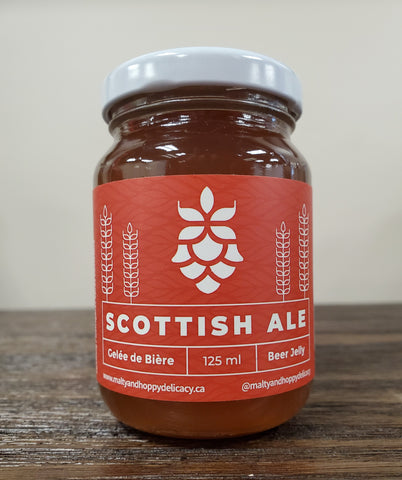Scottish Ale Beer Jelly