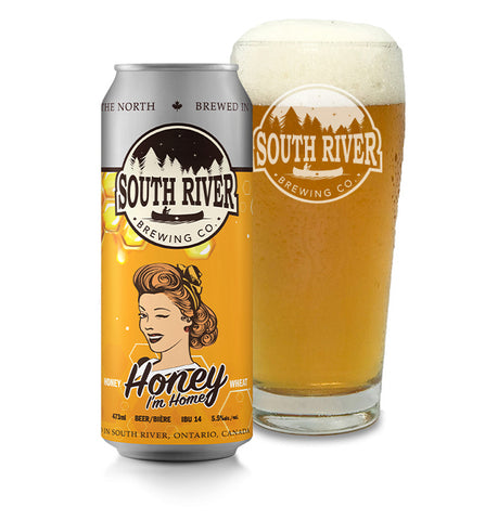 Honey I'm Home Wheat Beer
