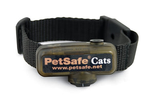 Collar receptor adicional para limitador de zona deluxe In-Ground Cat Fence™ con cable para gatos