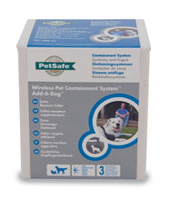 Cargar imagen en el visor de la galería, Collar receptor adicional Add-A-Dog® para limitador de zona sin cable Wireless Pet Containment™