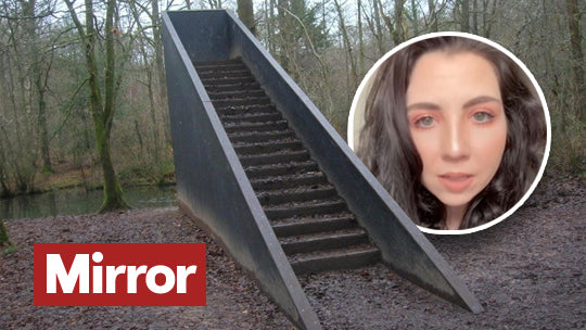 Mirror News - Stay away from random staircases in the woods