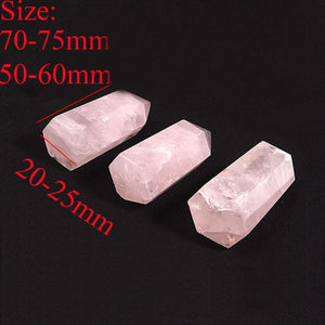 1PC Large 100% Natural Rose Quartz - Lees Villa