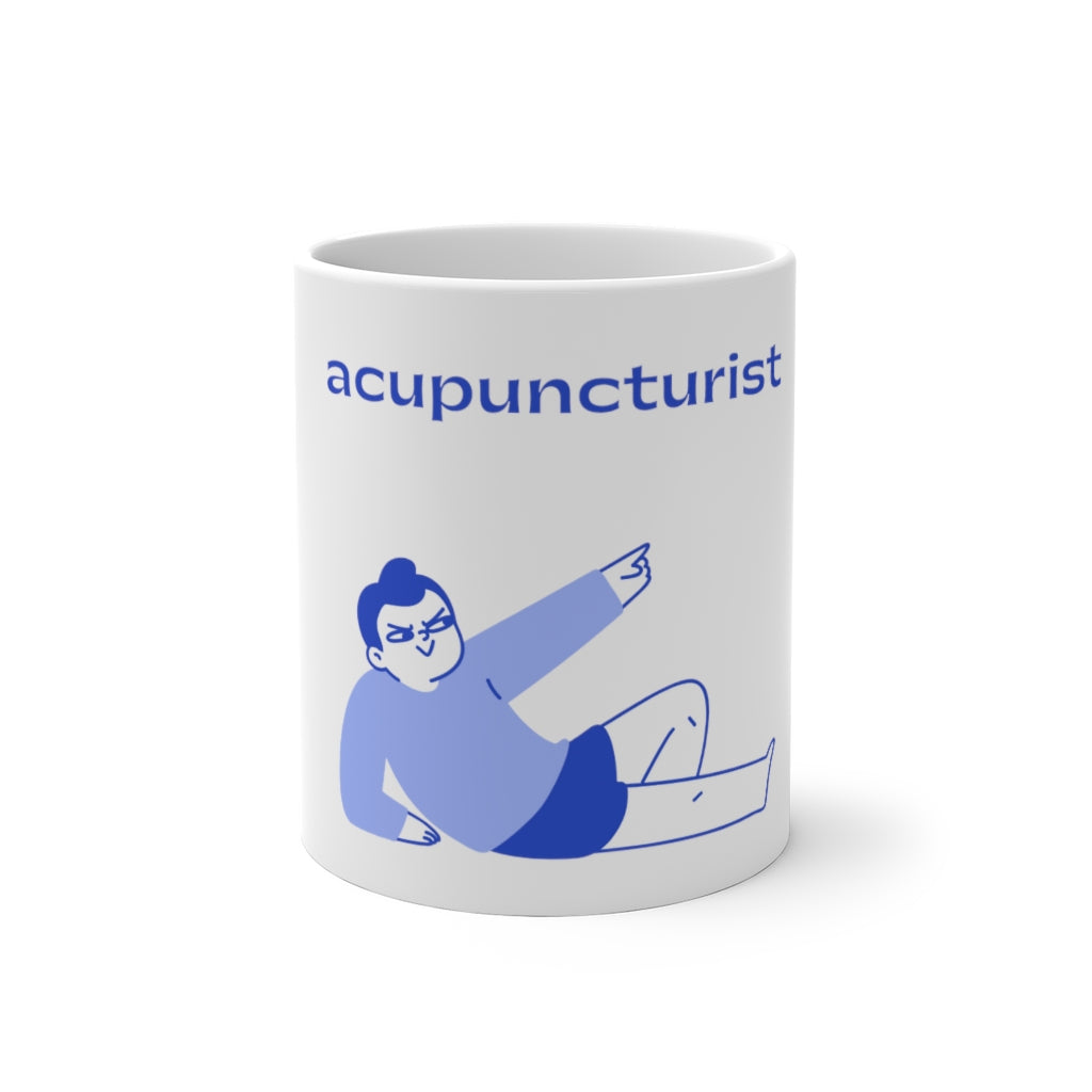 Angry Acupuncturist Colour Changing Mug
