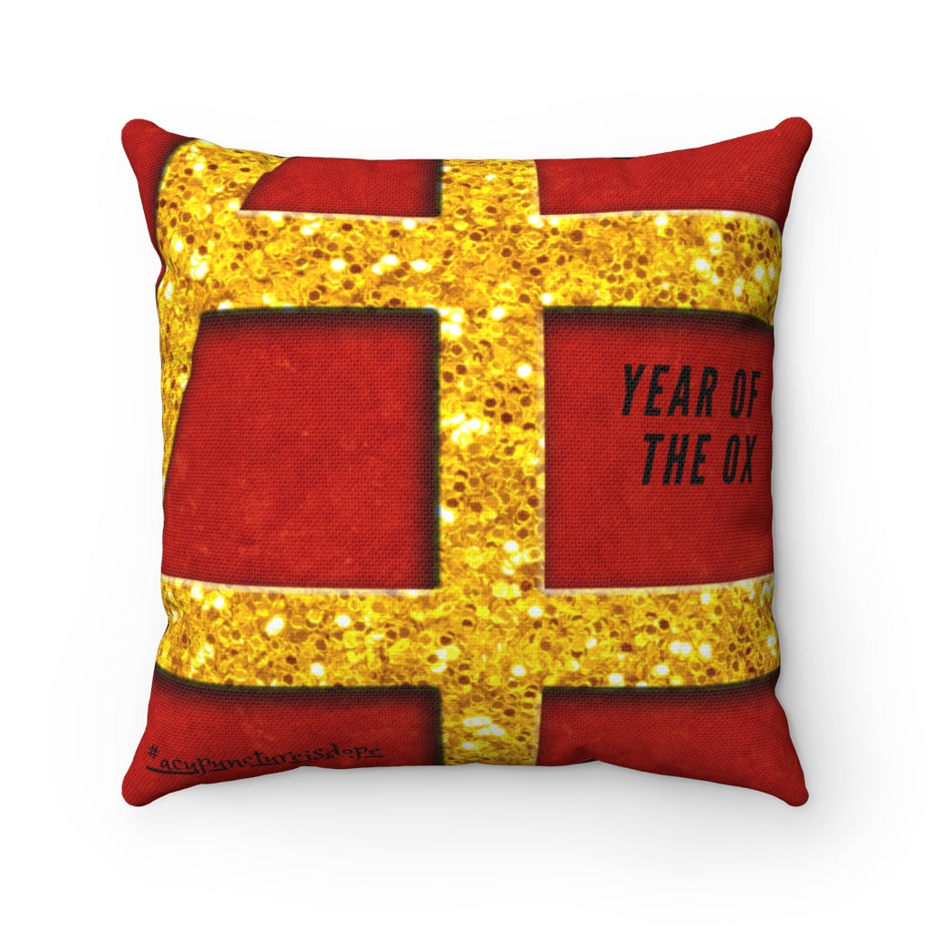 Year Of The Ox Pillow