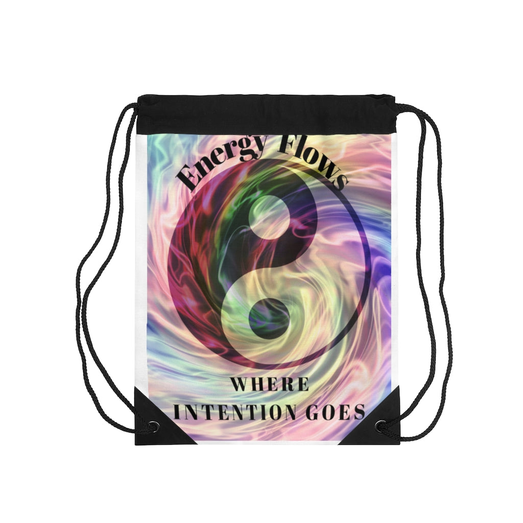 Positive Energy Drawstring Bag