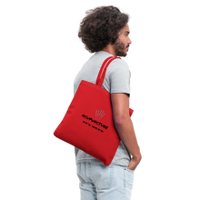 Load image into Gallery viewer, It's Dope Tote Bag - red