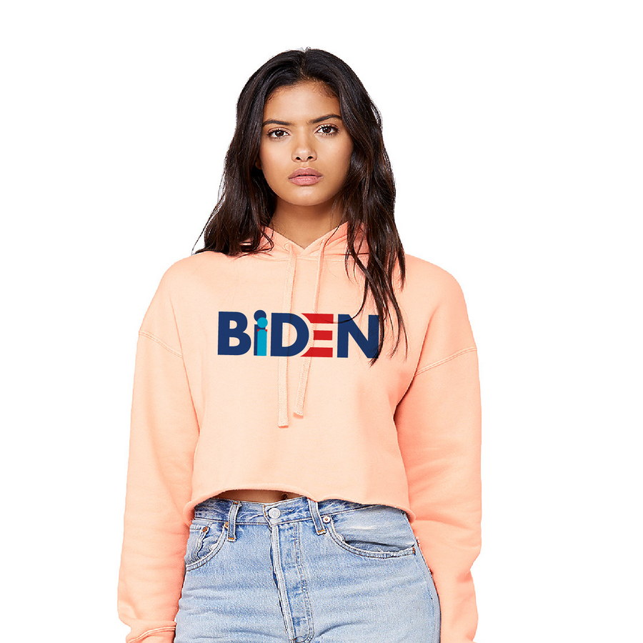 Creepy Joe - Ladies' Cropped Fleece Hoodie