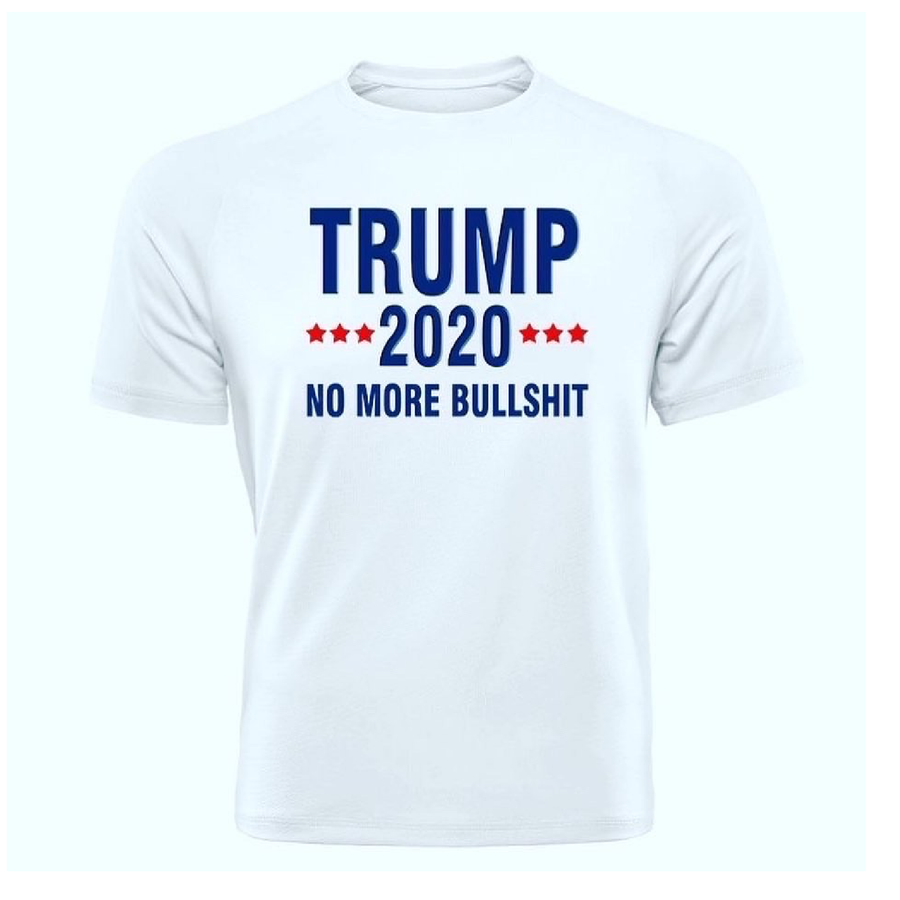 Trump 2020 No More Bullshit Tee