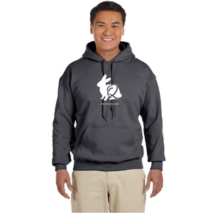 Follow the White Rabbit - Heavy Blend™ Hooded Sweatshirt