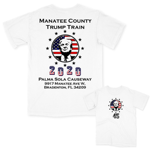 Trump Train Causeway Event Tee
