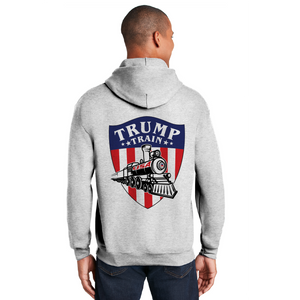 Trump Train Emblem Color - Heavy Blend™ Hooded Sweatshirt