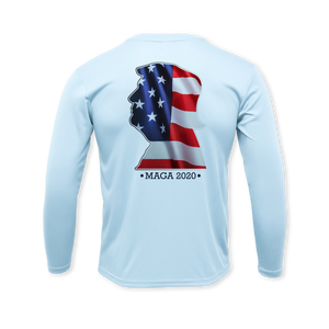 Head of America - Performance Long Sleeve T-Shirt