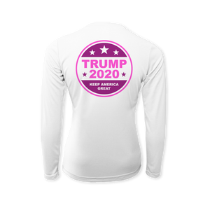 Women For Trump - Performance Ladies Long Sleeve T-Shirt