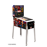 Arcade1Up Marvel Pinball Machine Side