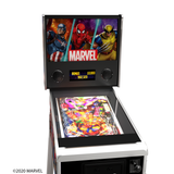 Arcade1Up Marvel Pinball Machine Top