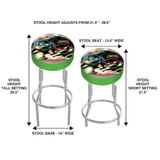 tmnt adjustable bar stool