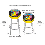 Pac-man Adjustable stool height