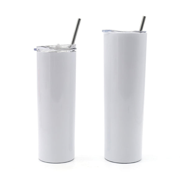 READY TO SHIP  -  30 oz Skinny Sublimation Tumblers Straight (Non-Tapered)