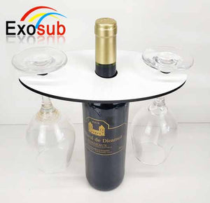 READY TO SHIP-Wine Glass Holder for Sublimation. READY TO SHIP
